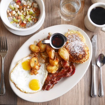 The Plow Signature Brunch dish from brunch spot Plow San Francisco
