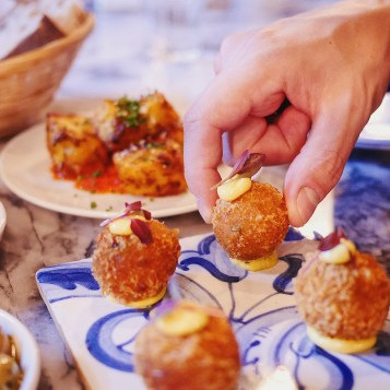 Portuguese Croquetes from Bar Douro