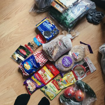 Food supplies from Puerto Natales