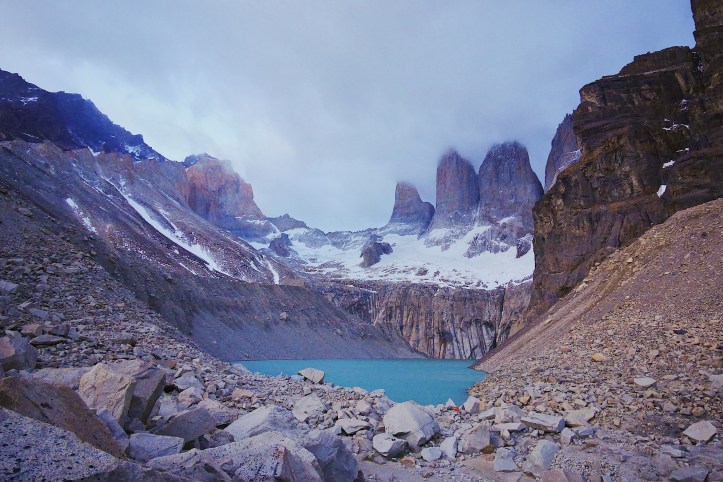 w-trek torres del paine patagonia chile sunrise
