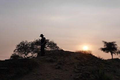 Sunset from Thatbyinnyu Temple