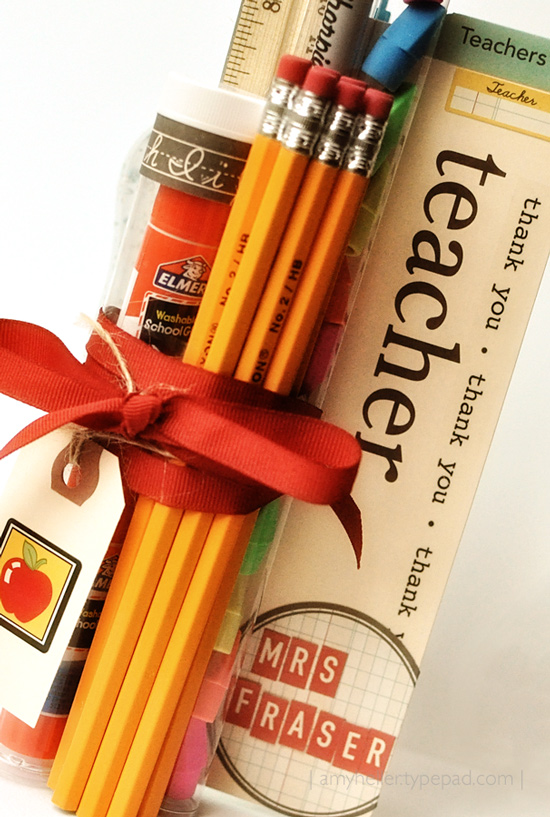 Amer Heller teacher gift  via LollyJane.com #teacherappreciation