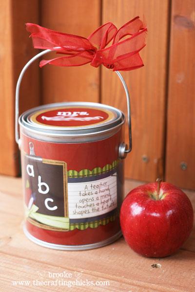 The Crafting Chicks teacher gift via LollyJane.com #teacherappreciation