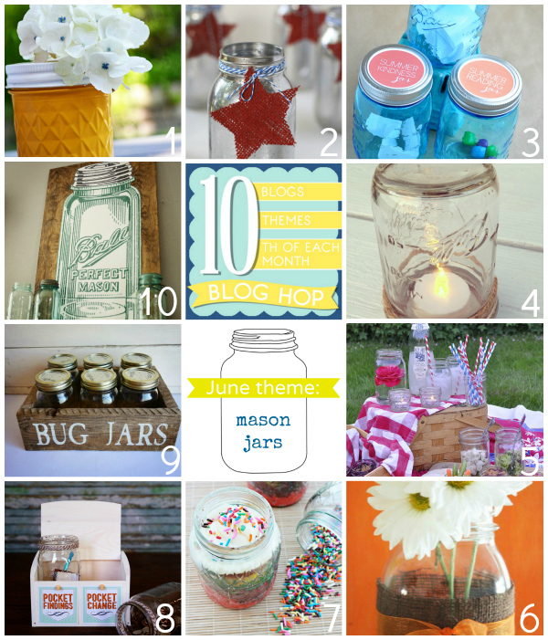 10 mason jars projects and recipes