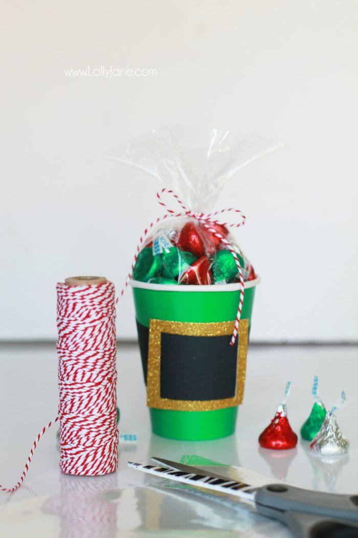 Elf Belt Kisses Gift Idea