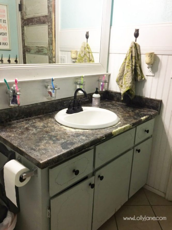 How To Paint Bathroom Countertops Bstcountertops