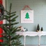 Diy Farm Fresh Christmas Trees Sign Lolly Jane