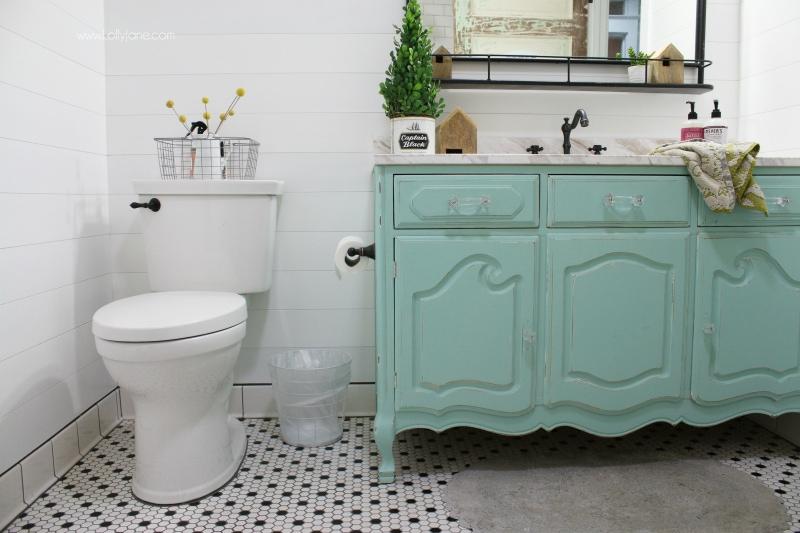 Farmhouse Bathroom Remodel + Sources