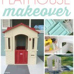 How To Paint A Plastic Playhouse Like A Pro Lolly Jane