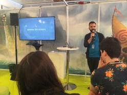 Jason Giving a talk on Zootopia!