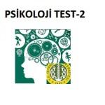 Psikoloji Test-2