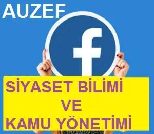siyaset bilimi ve kamu yönetimi facebook