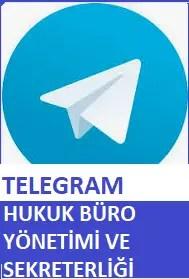 Hukuk Büro Yönetimi Ve Sekreterliği Telegram