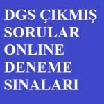 DGS Çıkmış Sorular