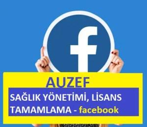 facebook Sağlık Yönetimi Lisans Tamamlama