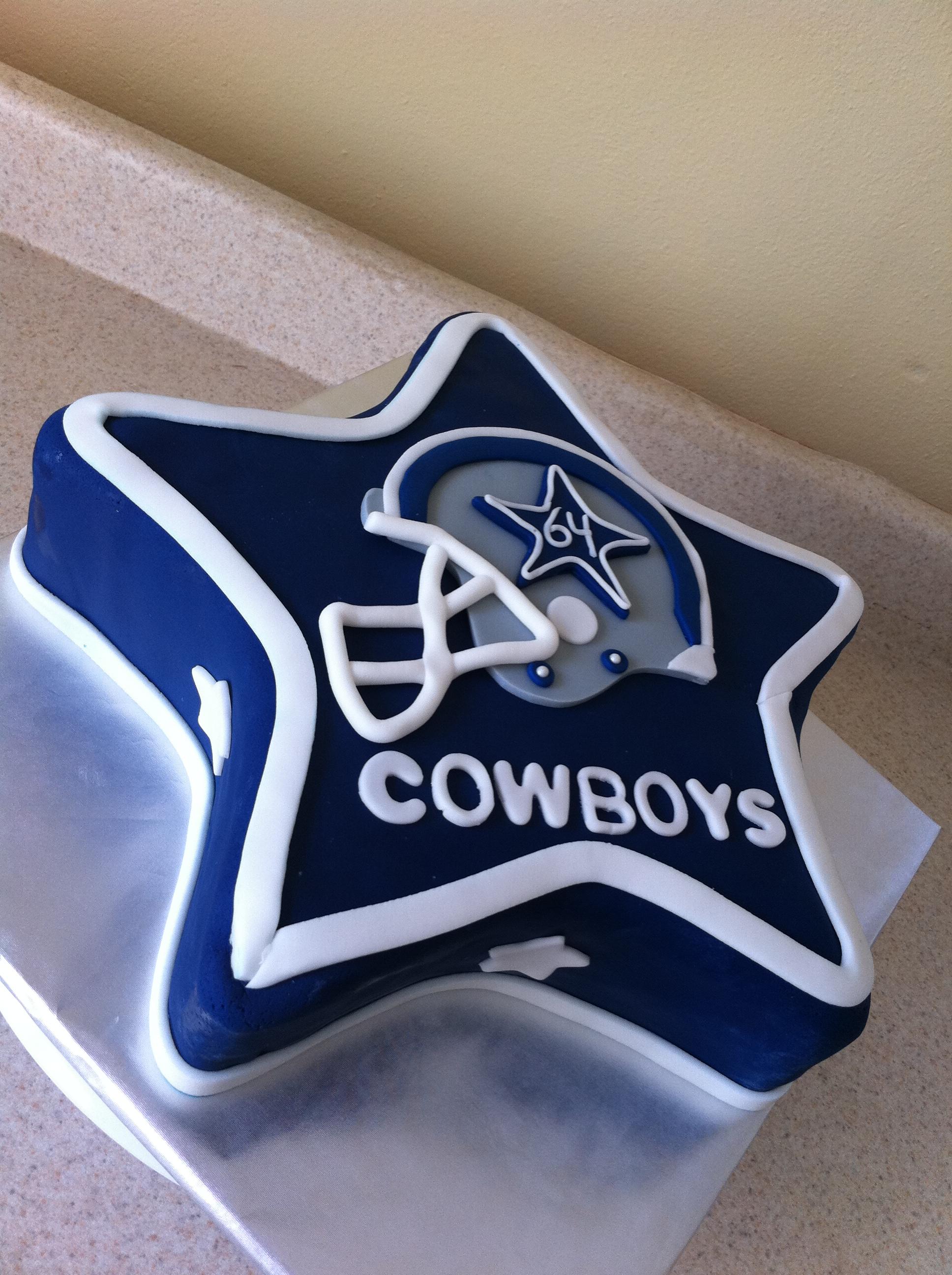 Dallas Cowboys Birthday Cake Lolo S Cakes Sweets