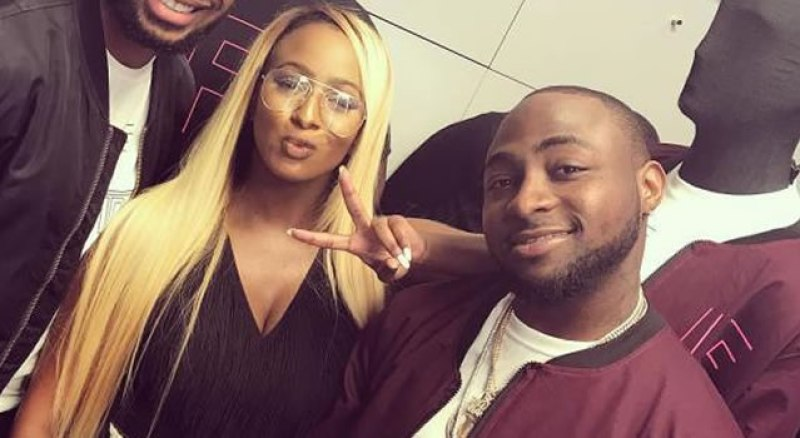Dj Cuppy and Davido
