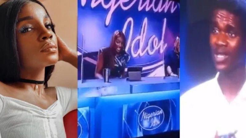 Seyi Shay as a Nigerian Idol Judge