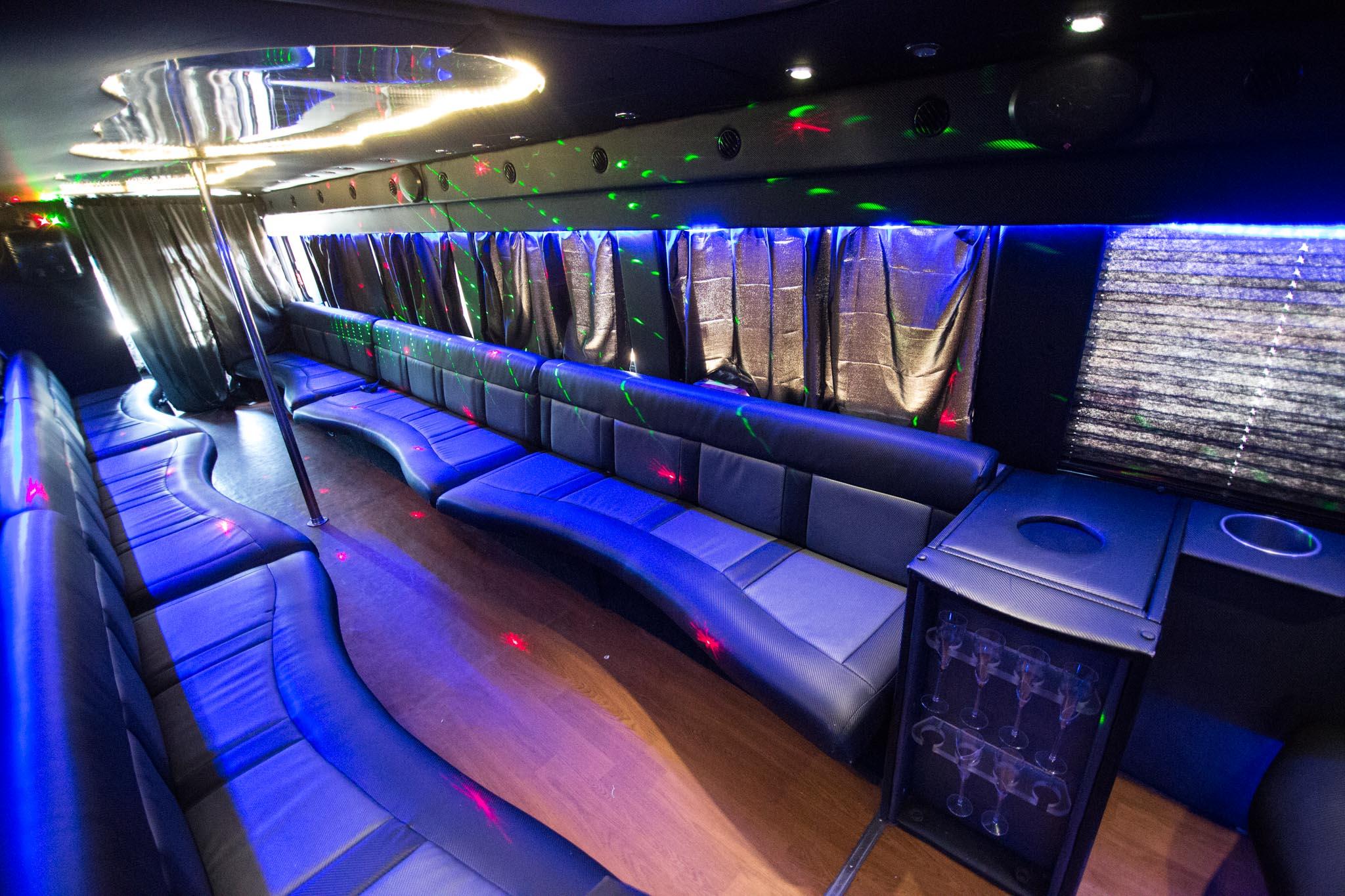32 Passenger Atlanta Party Bus