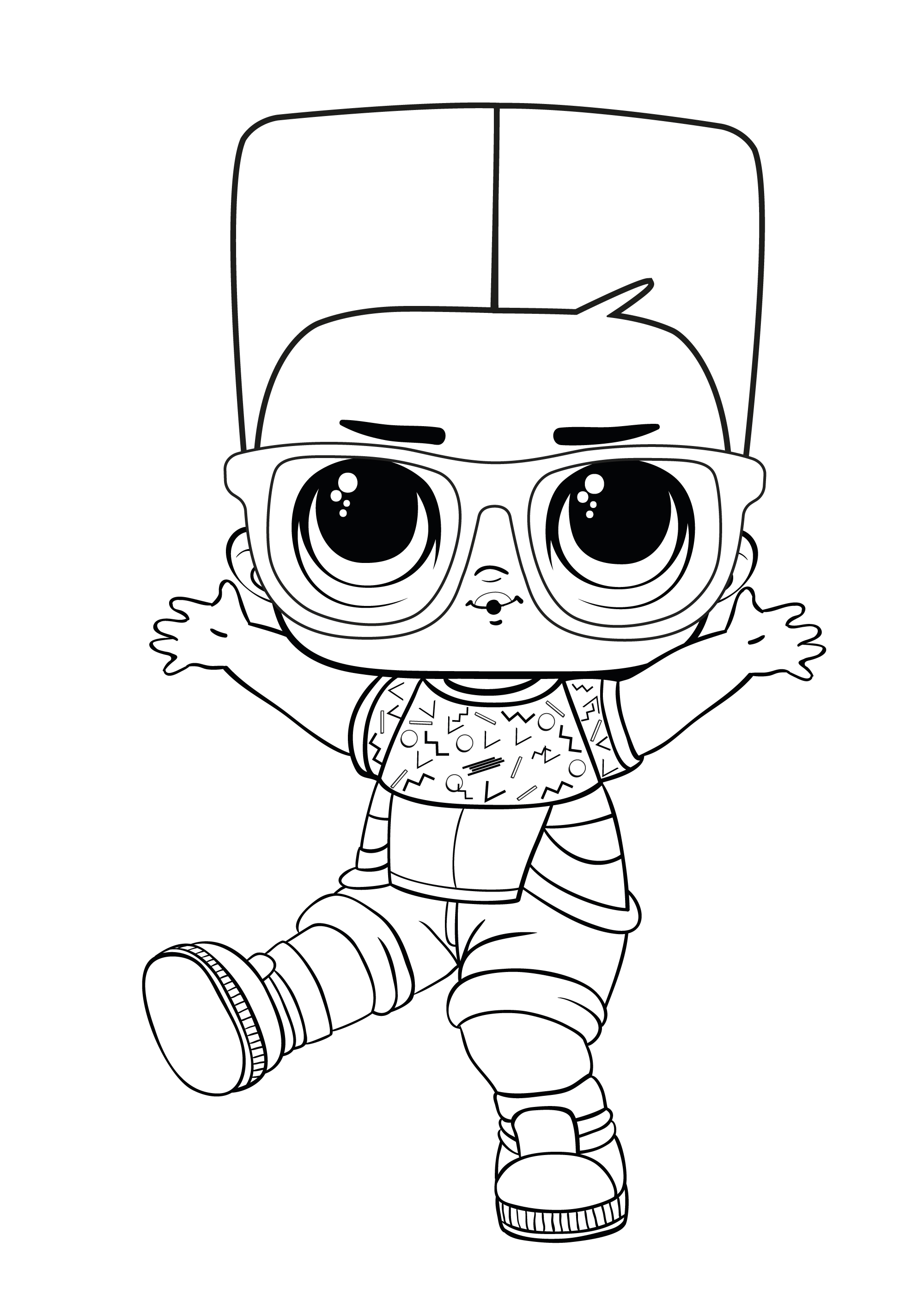 Coloring Pages Lol Surprise Lolsdolls