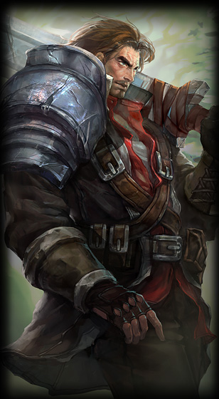 Rugged Garen Skin For SALE Get It NOW