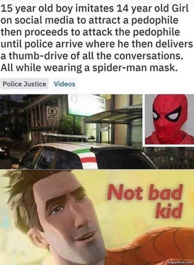 Not Bad Kid Meme Fort