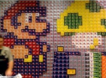 Mario Pepsi Display