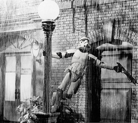 Star Wars Singing In The Rain