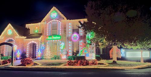 Neon and Christmas Collide