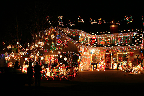 Super Christmas house