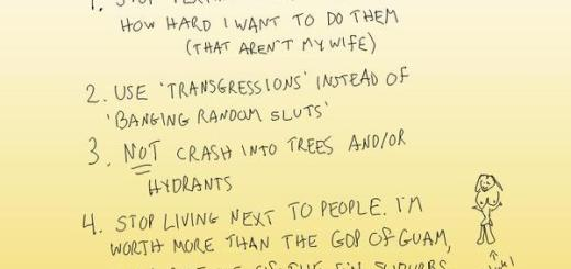 Tiger Woods To-Do List