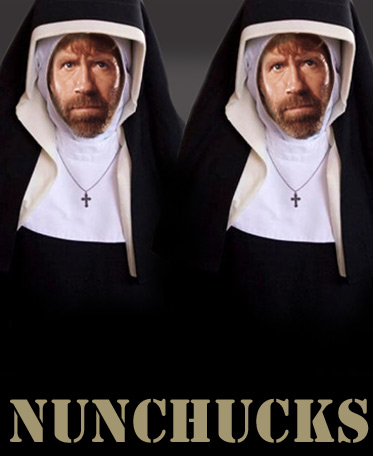 Unstoppable. Nunchucks!
