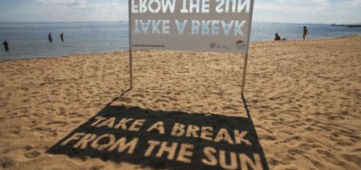 Take A Break From The Sun Ad