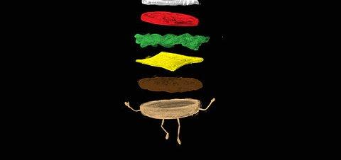 Sandwich On A Trampoline