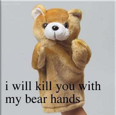I Will Kill You With My Bear Hands