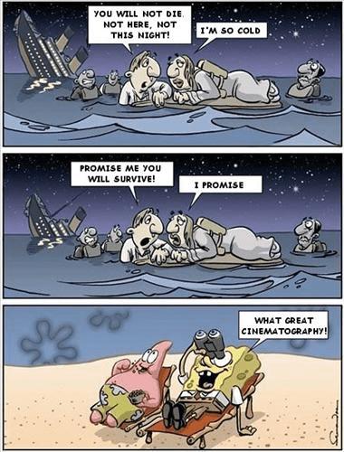 SpongeBob Watches Titanic