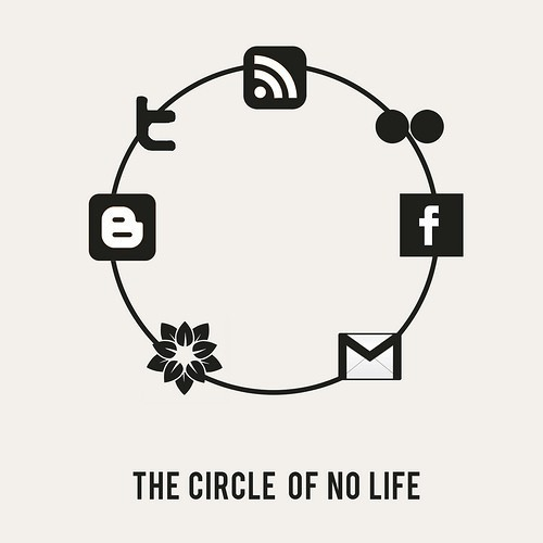 Sad Social Circle Of No Life