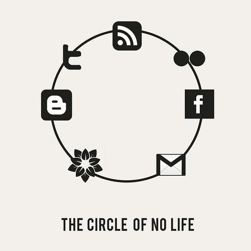 Sad Social Circle Of No Life