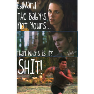 Edward. The Baby Is Not Yours