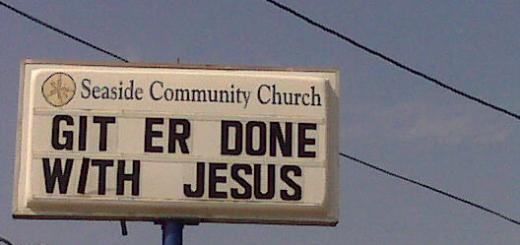 Get Er Done With Jesus