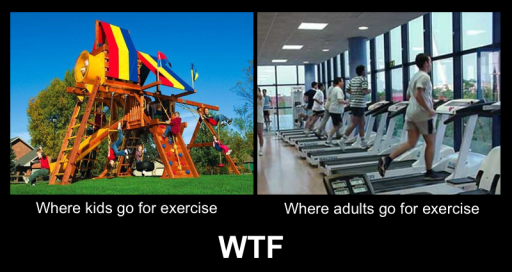 Exercising Fail - Then vs Now