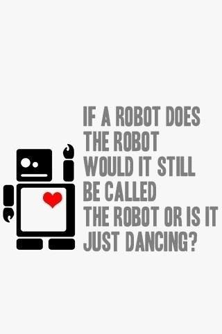 Can a Robot Do the Robot Dance?