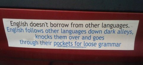 Truth About The English Language