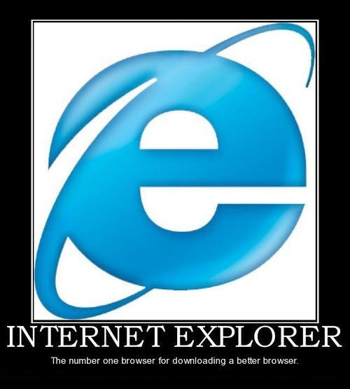 IE Is The #1 Browser For Downloading A Better Browser