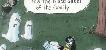 Even Ghosts Have A Black Sheet In The Family