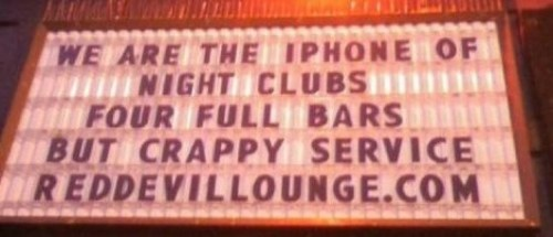 Going to the bar? Go to the iPhone of bars!