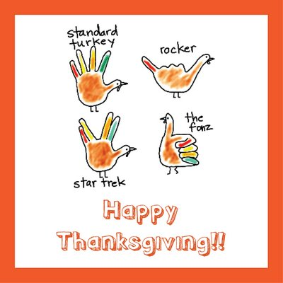 What Does Your Hand Say About Your Turkey?