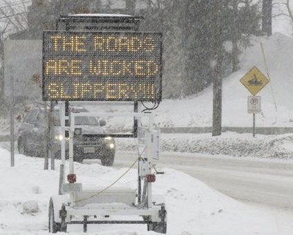 Winter's Coming And The Roads Will Be Wicked Slippery