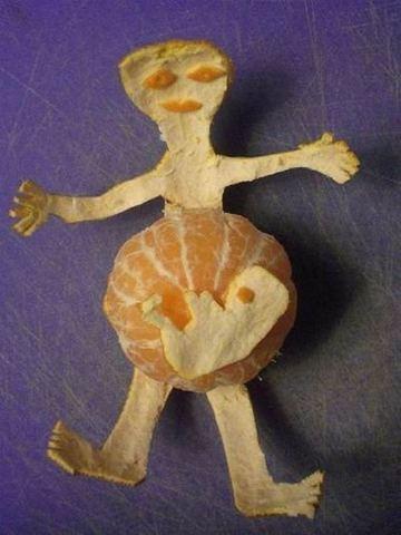 Strange Orange Baby