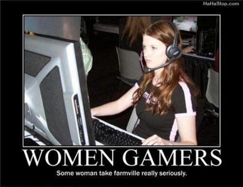 Farmville & Women Gamers